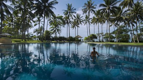 Alila Manggis Pool by Day