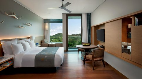 Rayong Marriott Resort & Spa Deluxe Mountain View Zimmer